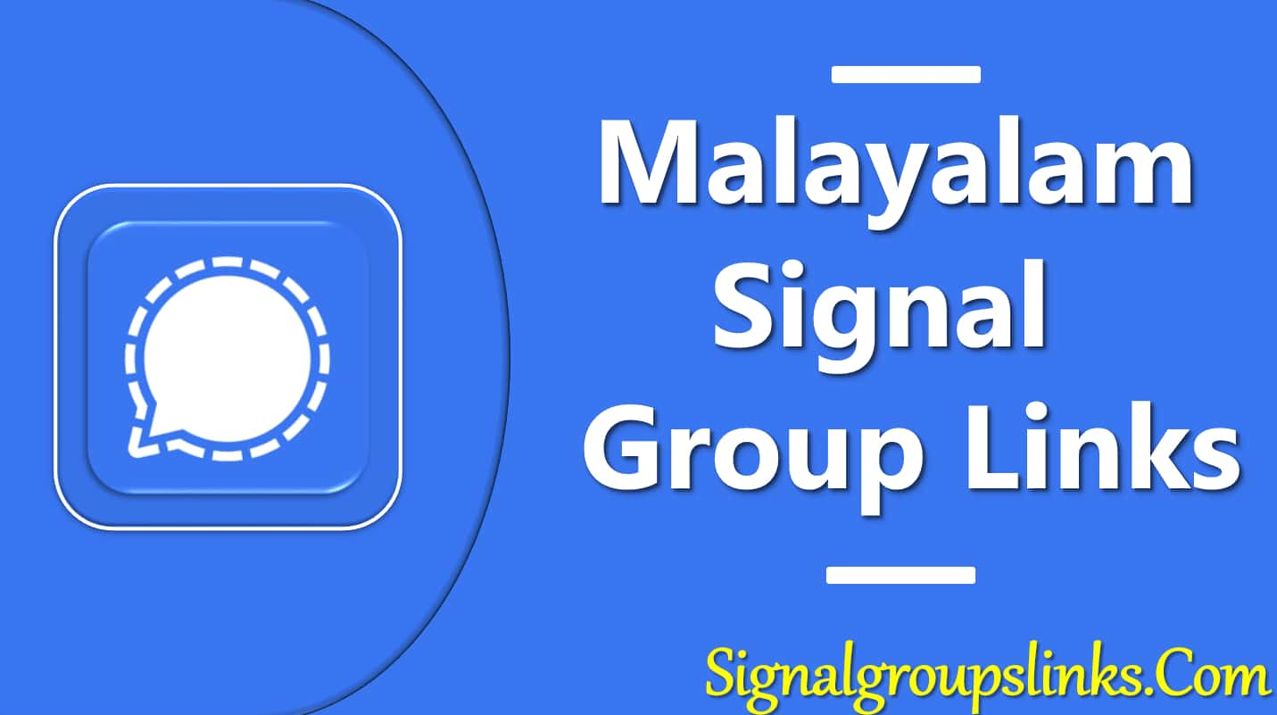 Malayalam Signal Group Links