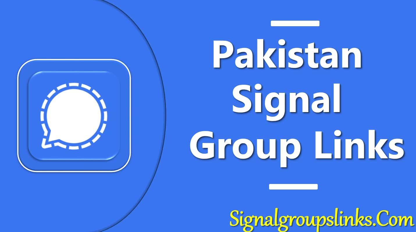 Pakistan Signal Group Links
