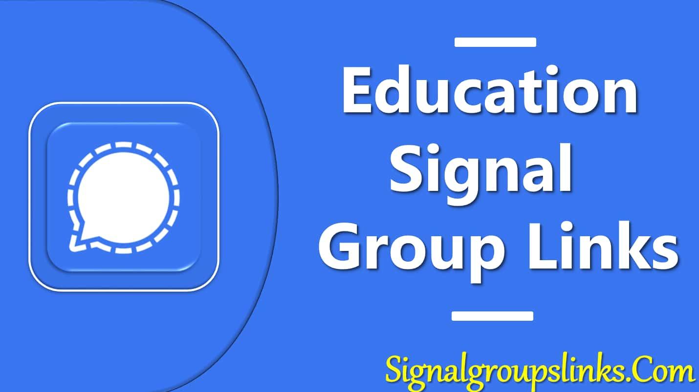 Education Signal Group Links
