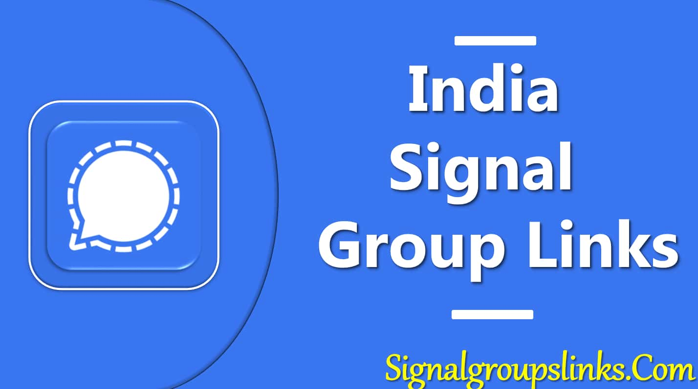 Indian Signal Group Links