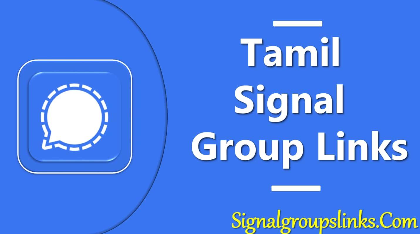 Tamil Signal Group Links